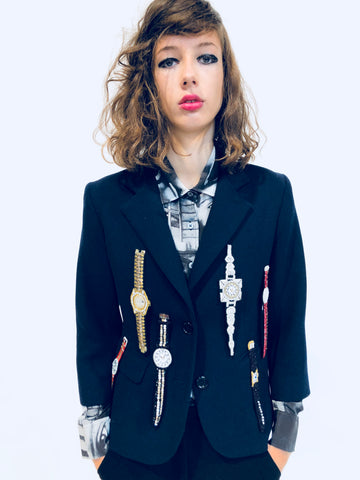"""WANNA BUY A WATCH?"" BLAZER - Women's Jackets & Coats - Libertine"
