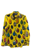 """SNUFF BOTTLES"" SILK BLOUSE - Women's Tops - Libertine"