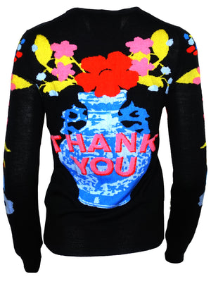 """For My Dear"" Crewneck Cashmere Pullover - Women's Knits - Libertine"