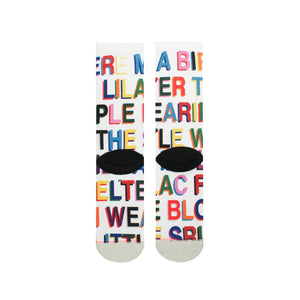 WOMEN'S LOVE LETTERS SOCKS - SOCKS - Libertine