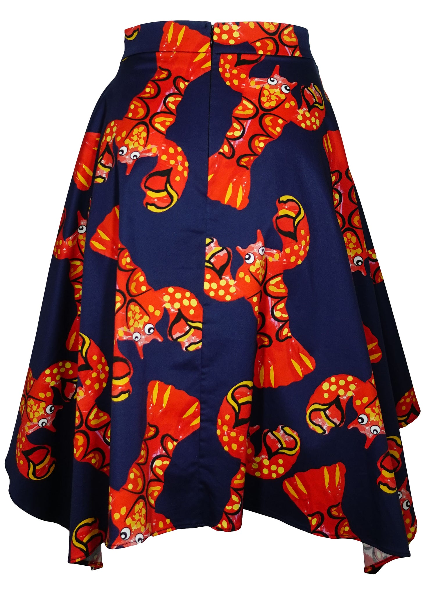 LOBSTERS HANKERCHIEF SKIRT - Women's Bottoms - Libertine