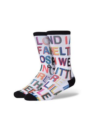 MEN'S LOVE LETTERS SOCKS - SOCKS - Libertine