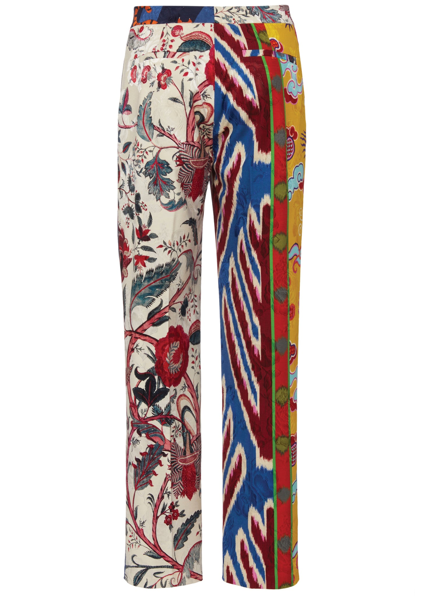 ''Prince of Chintz'' Narrow Pants - Women's Bottoms - Libertine