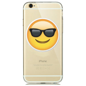 Sunglasses Emoji iPhone Case