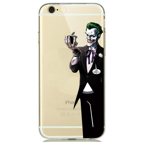 Joker Cartoon iPhone Case