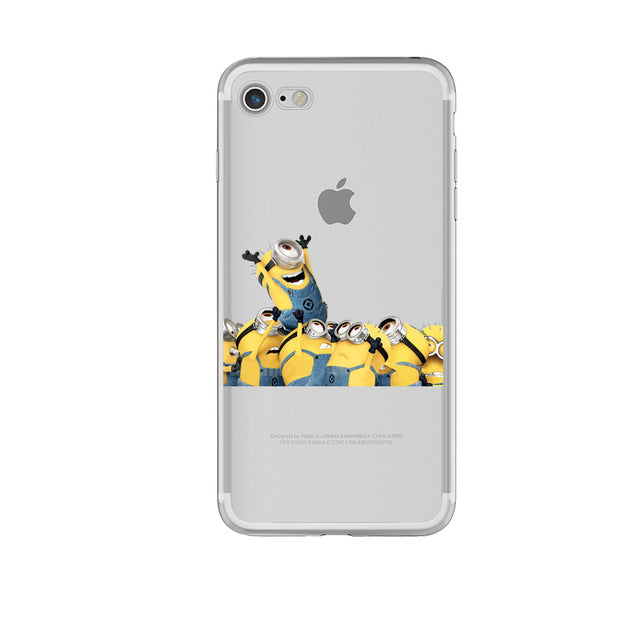 Minion Cartoon iPhone Case