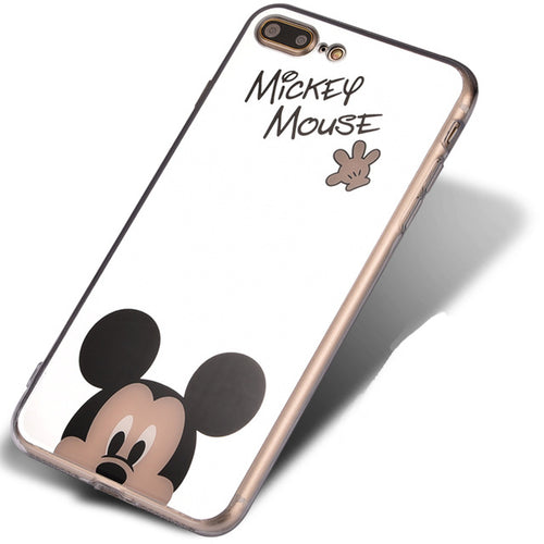 Mickey Cartoon Mirror iPhone Case