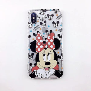 |New| Minnie Cartoon iPhone Case