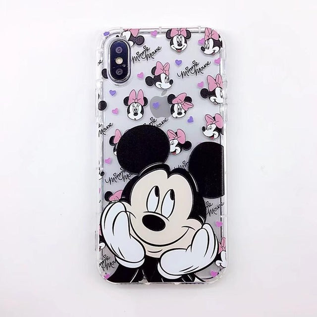 |New| Mickey Cartoon iPhone Case