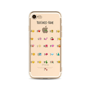 Your Emoji Name iPhone Case