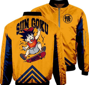 """Dragon Ball Z"" Bomber Jackets"