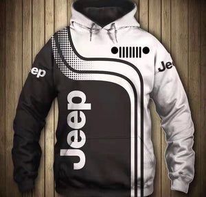 'Jeep' Light Hooded Jacket