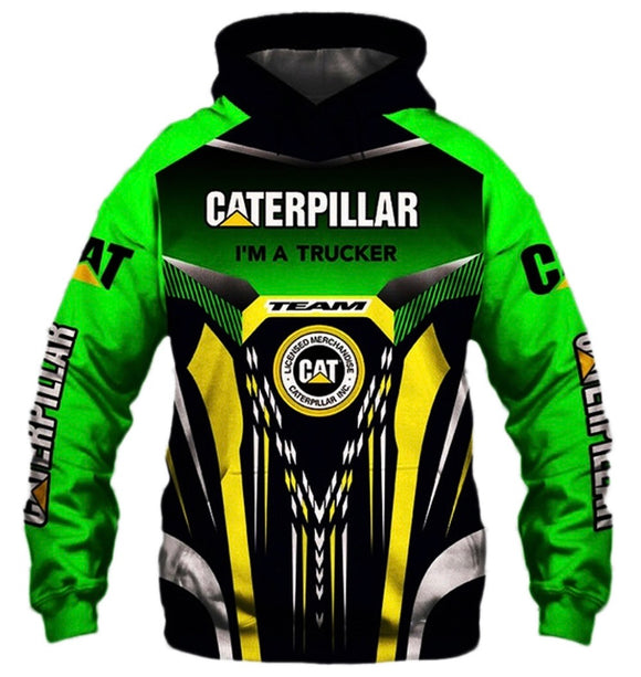 Caterpillar Light Hooded Jacket