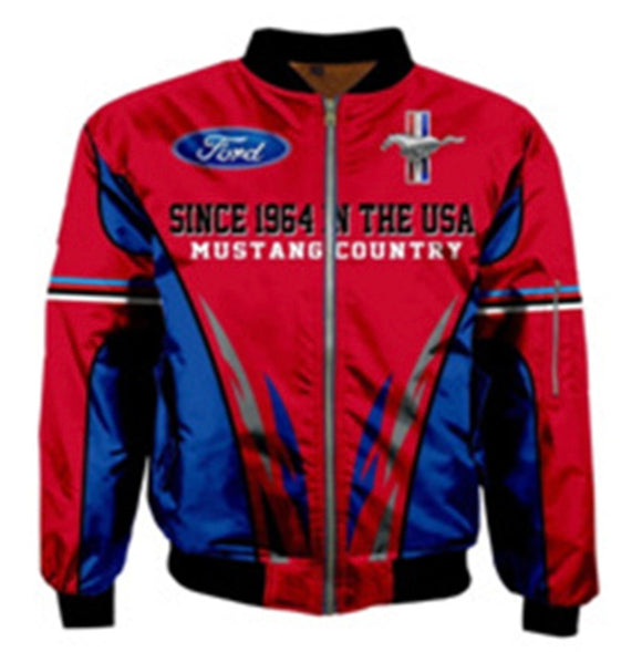 """Mustang Country""  Bomber Jacket (since 1964)"