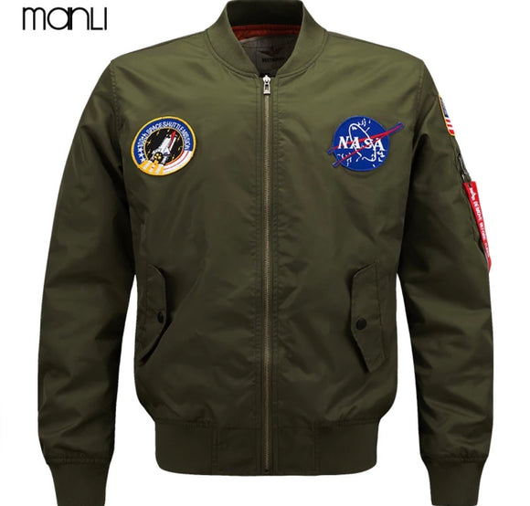"""NASA"" Bomber Jackets"