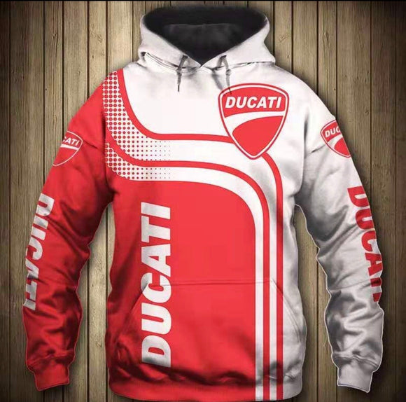 Ducati Hooded Motorcycle Jacket