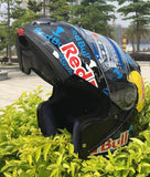 Red Bull Motorcycle Helmets ( up to 24 inch circumstance)