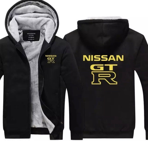 Nissan GTR Fleece Jackets (shipping delays)
