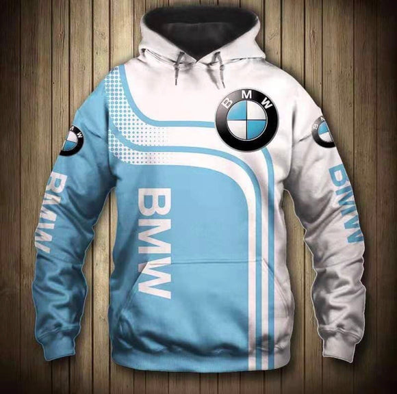 BMW Hooded Motorcycle Jacket