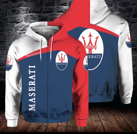 Maserati Hooded Jackets