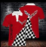 Corvette Polo Shirts (light, thin, and breathable