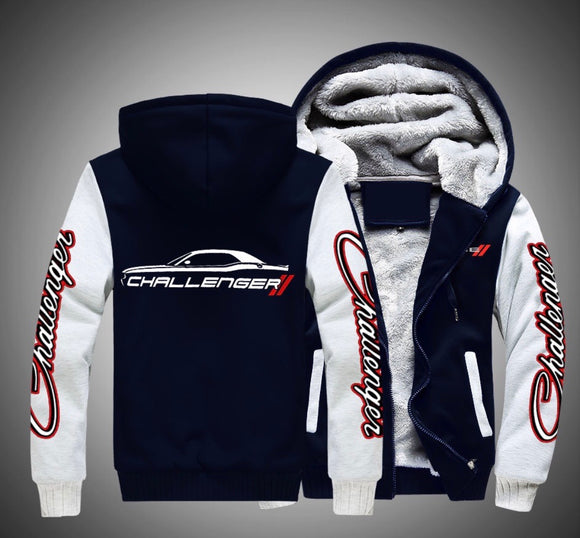 Dodge Challenger Fleece Jackets