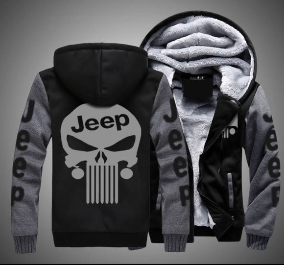 Jeep Fleece Jackets Punisher Addition