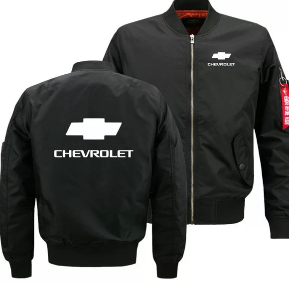 Chevrolet bomber Jackets (U.S. inches)