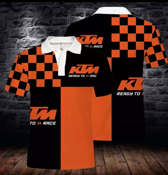 KTM Polo Shirts (light and thin)