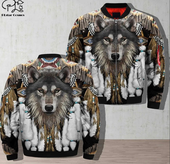 Native American Bomber Jackets