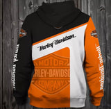 Harley Hooded Motorcycle Jacket