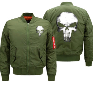 """Punisher"" Bomber Jackets"