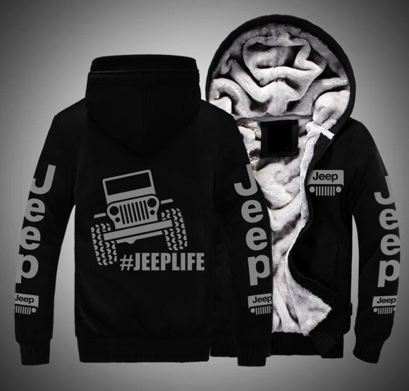 Jeep Life Fleece Jackets