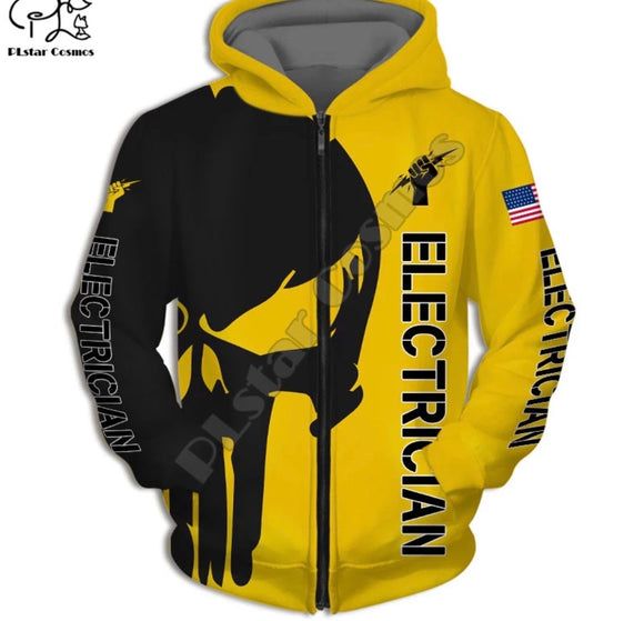 Electrician Light Hoodies
