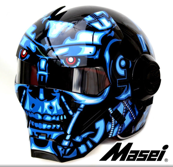 Terminator motorcycle helmets (up to 25 inches circumstance)