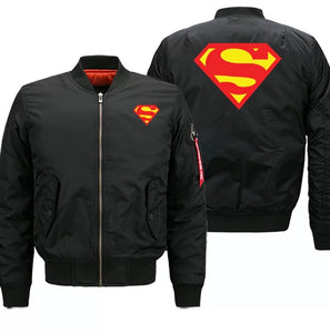 """Superman"" Bomber Jackets"