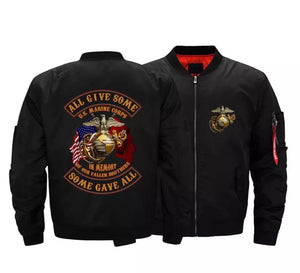 "Marines ""Some Gave All"" Bomber Jackets"