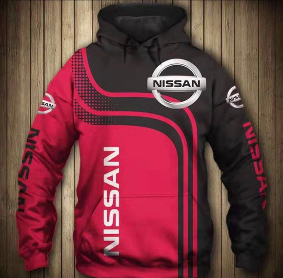 """Nissan"" Hooded Jacket"