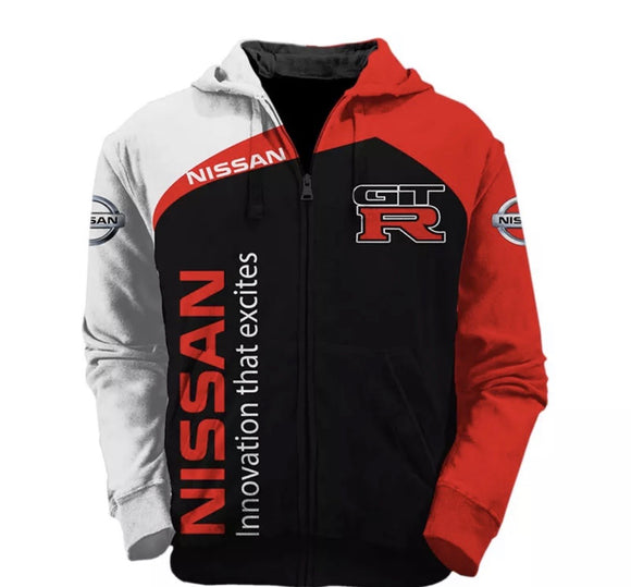 Nissan GTR Hooded Jacket