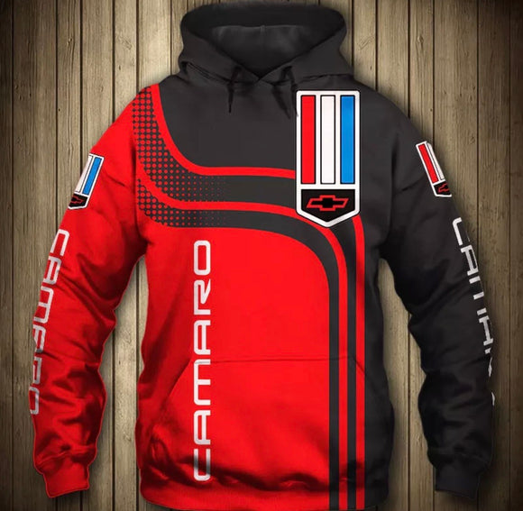Camaro Light Hooded Jacket