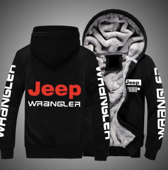 Jeep Wrangler Fleece Jackets
