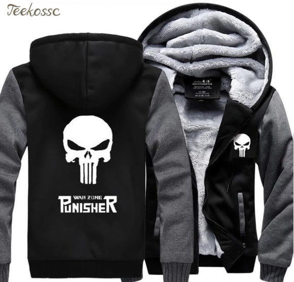 Punisher Fleece Jackets