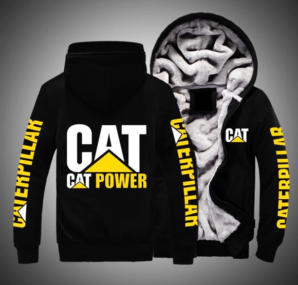 Cat Power Fleece Jackets