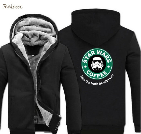 Star Wars Coffee Fleece Jackets