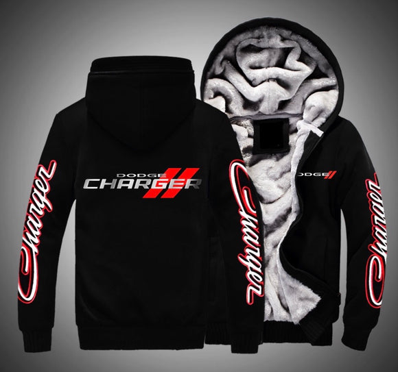 Dodge Charger Fleece Jackets