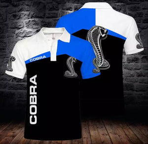 Ford Cobra Polo Shirts (light and thin)