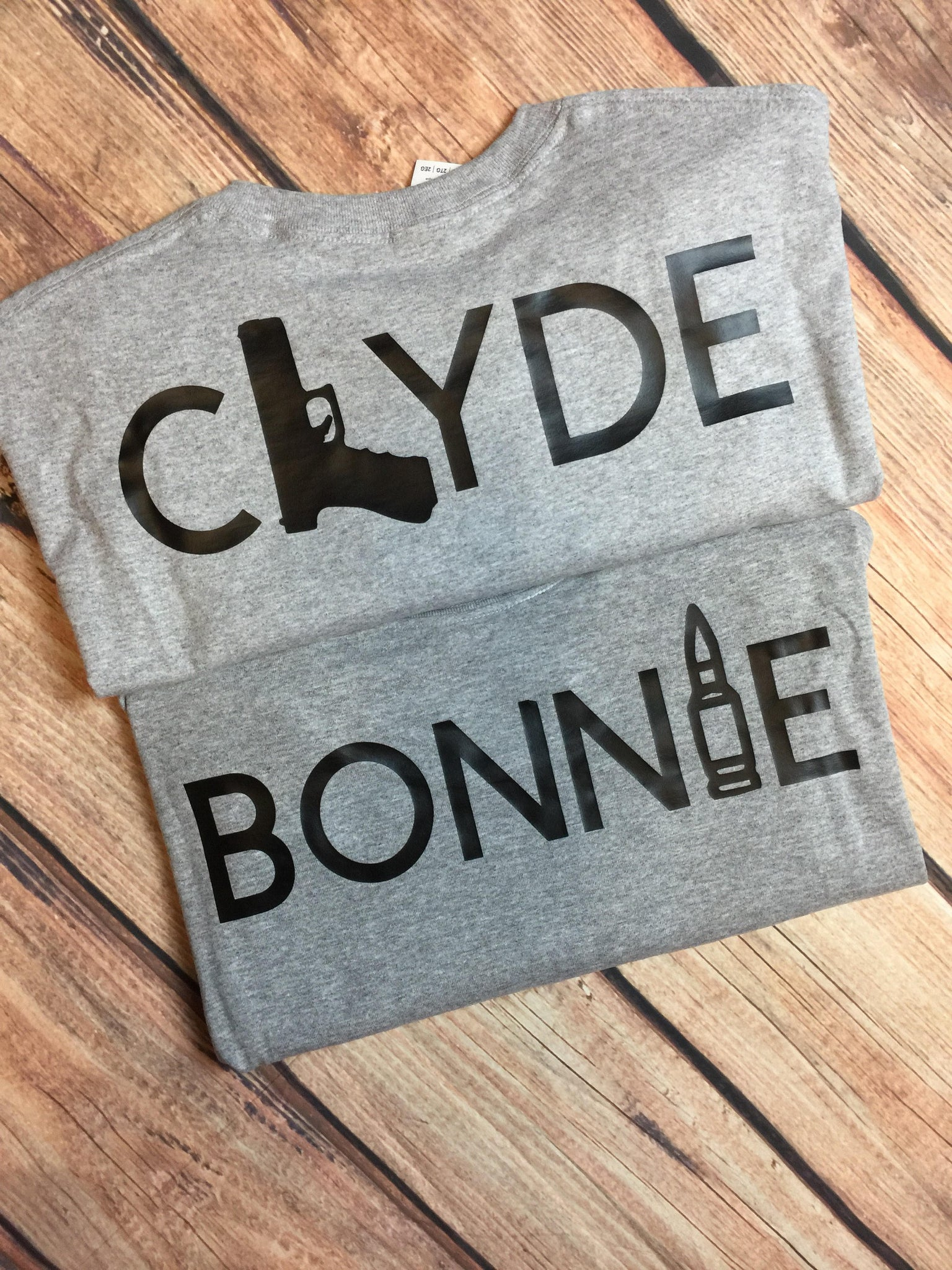 Bonnie & Clyde Couples Shirts Matching Couples Shirts Ride Or Dies