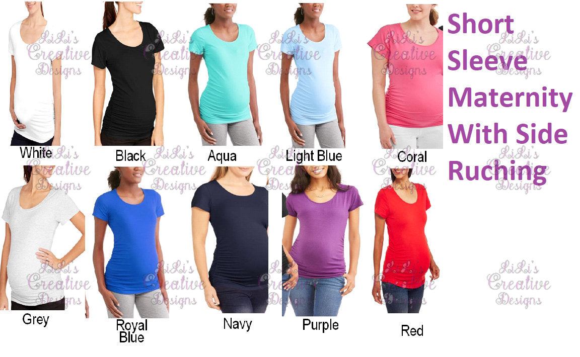 5e481271d2a8d ... Your Design Here MATERNITY shirt Customized Maternity Shirts  Personalized Maternity Top Design Your Own Maternity TShirt ...
