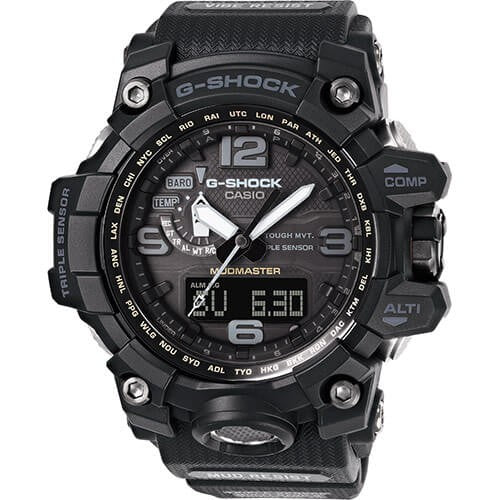 Casio G-Shock Master Of G Mudmaster Tough Solar Watch (GWG-1000-1A1 ,Black)