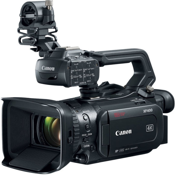 Canon XF400 4K UHD 60P Camcorder (PAL)